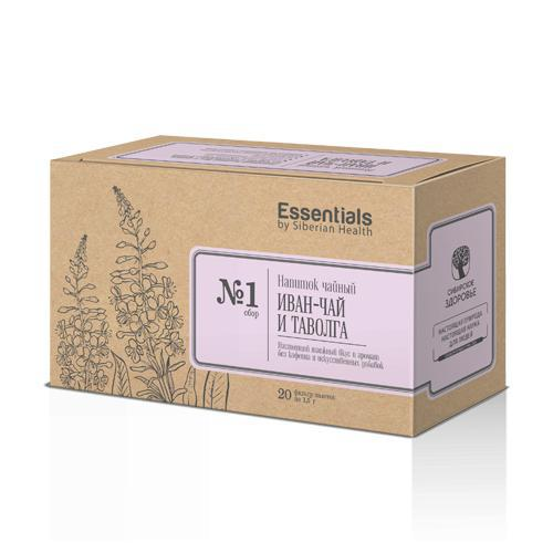 Essentials by Siberian Health. Fireweed and meadowsweet 500202