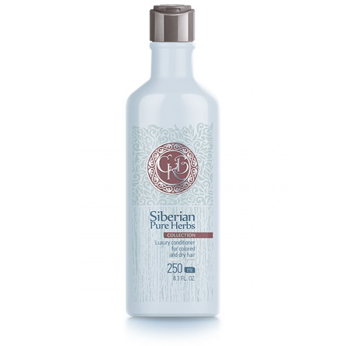 Siberian Pure Herbs Collection. Luxury conditioner for colored and dry hair/Après-shampooing, 250 ml 401780