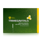 БАД Trimegavitals. Siberian linseed oil and omega-3 concentrate, 30 капсул