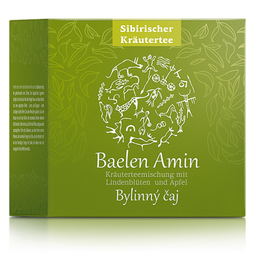 Food supplement Baelen Amin. Herbal Tea, 25 filter bags 500127