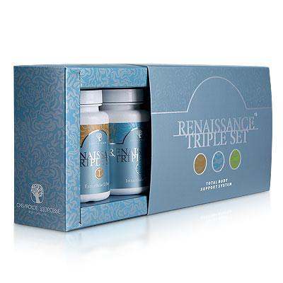 Food supplement Renaissance Triple Set, 180 capsules 500032