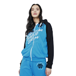 Sweatshirt for women (color: blue, size: XS)