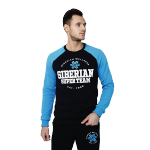Siberian Super Team sweatshirt for men (color: dark blue; size: M)