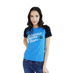 Siberian Super Team T-shirt for women (color: blue, size: M)