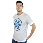 Siberian Wellness T-shirt for men (color: white, size: L)