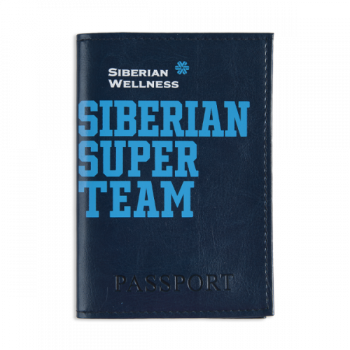Protège passeport Siberian Super Team (coloris: bleu) 107058