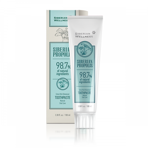 Extra Rich Botanical Toothpaste Natural oral care, 100 ml 411376