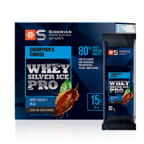 Siberian Super Natural Sport. Whey Silver Ice Pro 500366
