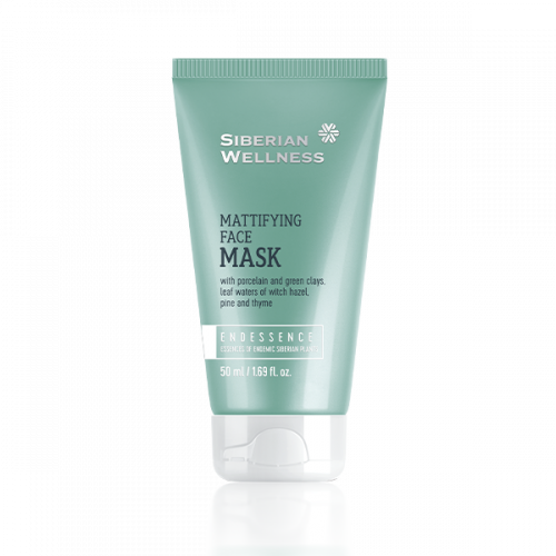 Siberian Wellness. Mattifying Face Mask, 50 ml 411574