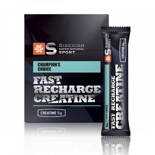 Siberian Super Natural Sport. Fast Recharge Creatine, 200 г S50370