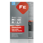 Complément alimentaire bio Elemvitals. Iron with Siberian herbs, 60 gélules